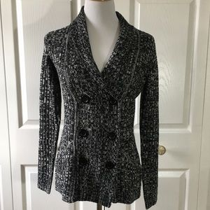 Effeci Black & White Sweater! NWT!